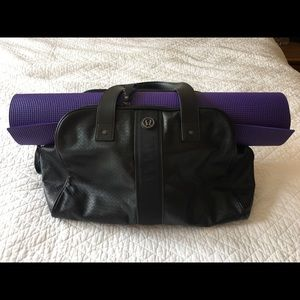 LuluLemon twice a yogi bag